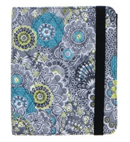 Studio C Tech Twilight Garden iPad 2 Rotator Case, Quilted, 1.25 x 8.5 x 10.25 Inches, Multicolored
