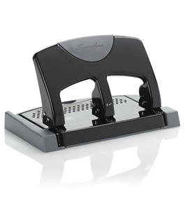 Swingline 3 Hole Punch, SmartTouch, Low Force, 45 Sheets