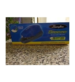 Swingline Breeze Automatic Blue Stapler