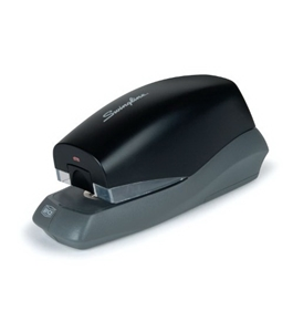 Swingline Breeze Automatic Desktop Stapler, Battery Powered, 20 Sheet Capacity, Assorted Colors (S7042131)