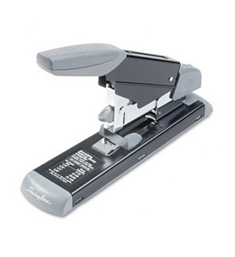 Swingline Durable Heavy Duty Stapler with Paper Adjustment Guide (S7011302B)