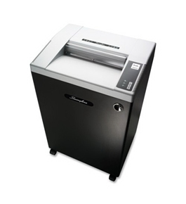 "Swingline GLX1942 Large Office Cross-cut Shredder-Shredder, Cross-Cut, 19 Sheet Cap, 24""x19""x38"", BK/SR"