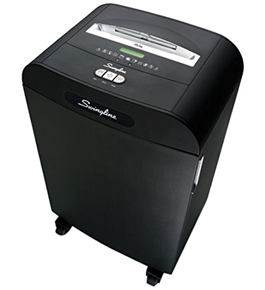 Swingline(TM) TAA Compliant CX40-59 Cross-Cut Shredder, Jam-Stopper?, 40 Sheets, Black (1753210)