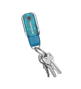 Swiss Tech Micro-Pro 9 in 1 Key Ring Tool & USB Flash Drive Set