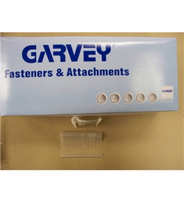 "Garvey TAGS-43601 1-1/2"" J-Hook Style Fasteners - 5000 Count"