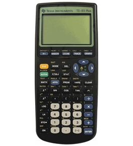 Texas Instruments TI-83 Plus Graphing Calculator(Packaging may vary)