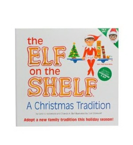The Elf on the Shelf - Girl Elf Edition with North Pole Blue Eyed Girl Elf and Girl-character themed Storybook