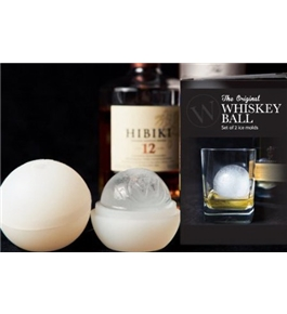 The Original Whiskey Ball - 2 pack of Ice Ball Molds