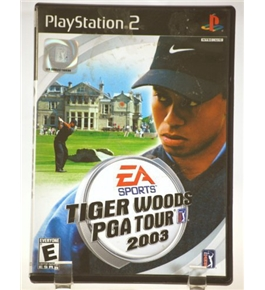 Tiger Woods PGA Tour 2003 PS2 [PlayStation2]