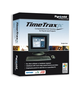 Pyramid Technologies - TimeTrax PC Time & Attendance Software