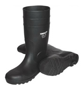 Tingley Economy PVC Knee Boot - Black, Size 10, Model# 31151