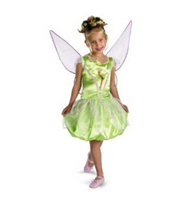 Tinkerbell Deluxe - Size: Child S(4-6x) - By Disney's Fairies