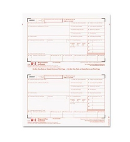 TOPS 22904KIT Business Forms W-2 Tax Forms Kit, 24 Forms, 24 Envelopes, 1 W-3 form