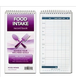 TOPS Food Intake Record Book, 4 x 8 Inches, 70 Sheets, 80316