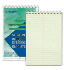 Tops Steno Book 8011 Writing Pads & Paper
