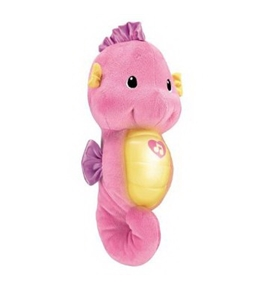 Toy / Game Fisher-Price Ocean Wonders Soothe and Glow Seahorse Pink w/ 8 Gentle Lullabies & Classical Selection