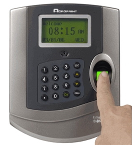 Acroprint TQ100 Biometric Terminal