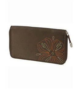Travelon RFID Blocking Ladies Wallet Brown
