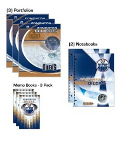 Turner NHL Edmonton Oilers Nondated Combo Pack (8140355)