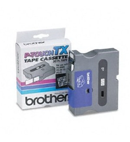 Brother TX1411 Black on Clear P-Touch Tape