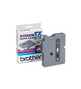 Brother TX2211 Black on White P-Touch Tape