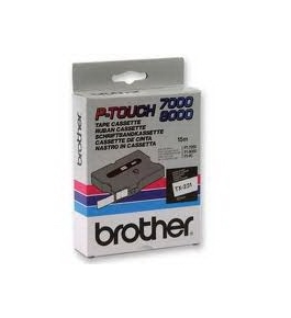 Brother TX3341 Gold on Black P-Touch Tape