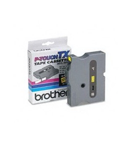 Brother TX6311 Black on Yellow P-Touch Tape