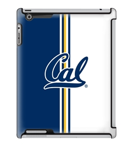 Uncommon LLC University of California - Berkeley Vertical Stripe Deflector Hard Case for iPad 2/3/4 (C0050-GB)