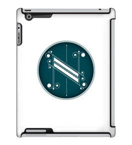 Uncommon LLC Deflector Hard Case for iPad 2/3/4, Jessica Hische N (C0050-RL)