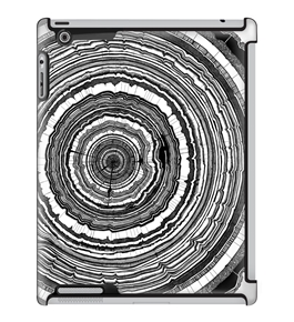 Uncommon LLC Tony Hong Tree Rings Deflector Hard Case for iPad 2/3/4 (C0050-WQ)