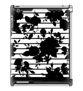 Uncommon LLC Les Fleurs Deflector Hard Case for iPad 2/3/4 (C0010-EF)