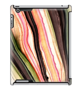 Uncommon LLC Multi Pink Marble Deflector Hard Case for iPad 2/3/4 (C0010-HE)