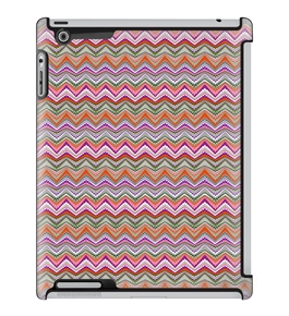 Uncommon LLC Noel Ashby Static Rose Deflector Hard Case for iPad 2/3/4 (C0010-HP)
