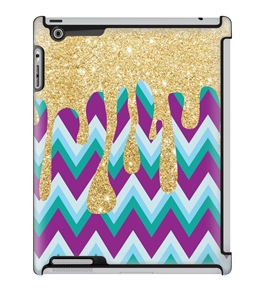 Uncommon LLC Deflector Hard Case for iPad 2/3/4, January Drip (C0010-ND)