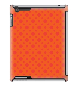 Uncommon LLC Deflector Hard Case for iPad 2/3/4, Orange Burst (C0010-KW)