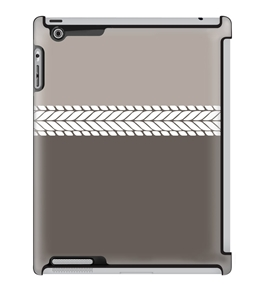 Uncommon LLC Deflector Hard Case for iPad 2/3/4, Block Knit Stone (C0010-QC)