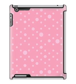 Uncommon LLC Fizz Dots Pink Deflector Hard Case for iPad 2/3/4 (C0010-JP)