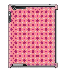 Uncommon LLC Deflector Hard Case for iPad 2/3/4 - Preppy Dots Coral (C0060-EI)