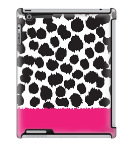 Uncommon LLC Deflector Hard Case for iPad 2/3/4 - Moo Pink Bottom (C0010-WJ)