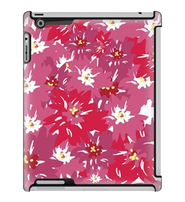 Uncommon LLC Deflector Hard Case for iPad 2/3/4 - Pink Daisy (C0070-MY)
