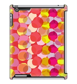 Uncommon LLC Deflector Hard Case for iPad 2/3/4, Translucent Dots Red (C0060-MK)