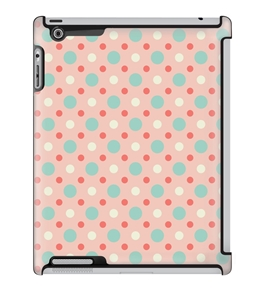 Uncommon LLC Deflector Hard Case for iPad 2/3/4, Preppy Dots Candy (C0060-KL)