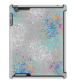 Uncommon LLC Deflector Hard Case for iPad 2/3/4, Painted City Cement (C0060-VI)