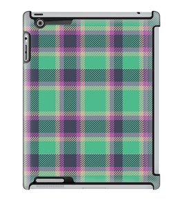 Uncommon LLC Deflector Hard Case for iPad 2/3/4, Plaid Green (C0070-PR)