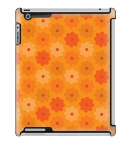 Uncommon LLC Deflector Hard Case for iPad 2/3/4 - Tangerine Dream (C0070-RE)