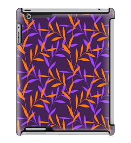 Uncommon LLC Night Vine Plant Deflector Hard Case for iPad 2/3/4 (C0070-VT)