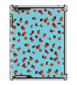 Uncommon LLC IFB Camel Flakes Red Blue Deflector Hard Case for iPad 2/3/4 (C0060-PA)
