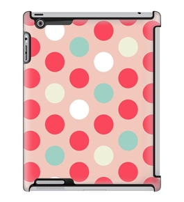 Uncommon LLC Bubble Dots Pastel Deflector Hard Case for iPad 2/3/4 (C0060-ON)
