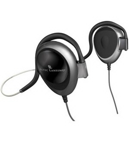 Altec Lansing UHP303 Behind-The-Neck Ear Clip Headphones