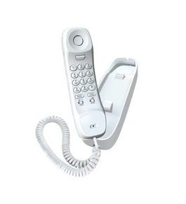 Uniden Slim1100 Slimline Corded Phone,white one phone Office Product